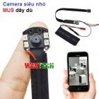 Camera IP WiFi Camera siêu nhỏ MUS dây dù